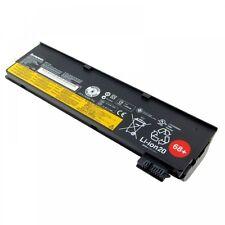 Lenovo ThinkPad X260, ORIGINALE BATTERIA 68 LIION, 11.1 V, 6600mAh, Nero