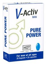 HOT V-Activ caps for Men 20 pcs  Potenza erezione extra libido naturale uomo