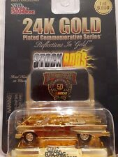 Racing Champions 58 Edsel 24K Gold Plated Reflections Stock Rod 1:64 New 1998