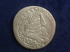 XV ( 15 ) Kreuzer 1676 Leopold Wien RDR WIE76.1.2  W/18/431