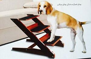 3-step Foldable Wood Pet Steps