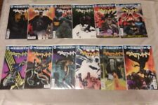 Batman Rebirth  DC Comic Run Lot #1-12