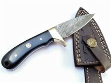Club-2 Damascus Steel Handmade Hunting Camping Tracking Utility Knife 7 Inch