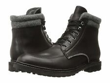 Men's Woolrich Puritan Path Vintage Black/Ash Leather/Wool Size 10 MSRP 250$
