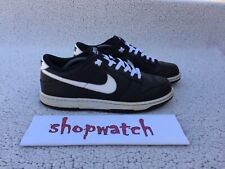 💥 2012 Nike SB Dunk Low Yin Yang Black White 318019-020 Travis Scott Size 11