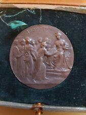 # Médaille en Bronze Argentée Cinquantenaire de l'Annexion à PARIS 1859-1909