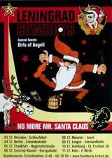 LENINGRAD COWBOYS - 2000 - Tourplakat - Concert - No More Mr. Santa - Tourposter