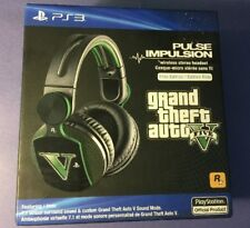 Sony Pulse Impulsion Elite Edition Wireless Headset [ GTA V Limited Edition] NEW