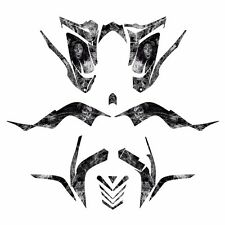 Raptor 700 R graphics decal kit fits 2006 - 2012 #9700 Metal Zombie Girl