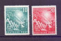 Bund 1949 - Bundestag - MiNr. 111/112 postfr.** GEPRÜFT - Michel 100,00 € (428)