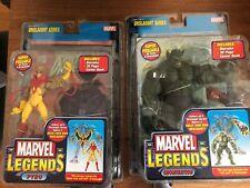 Marvel Legends Onslaught build a figure set from 2006