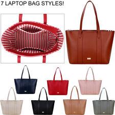 """Damas Bolso De Laptop 13 15.6 17"""" pulgadas para mujer Bolsa de Hombro Bolso de gran oficina de trabajo"""