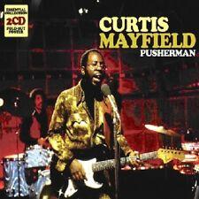 Curtis Mayfield - Pusherman [New CD] UK - Import