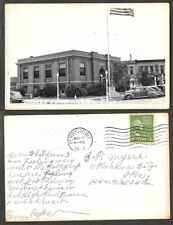 Old Iowa Real Photo Postcard - Perry - Carnegie Library