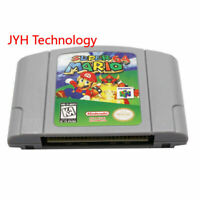 Super Mario 64 Video Game Cartridge Console Card US Version For Nintendo N64