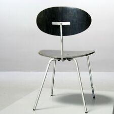 Vintage Stuhl von Hans Bellmann für Domus Vintage Chair Switzerland schwarz 60er