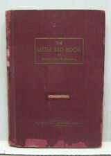 """1952 The Little """"Red Book"""" of Base Ball- Hardcover Baseball Book  (L9678)"""
