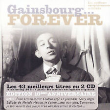 Gainsbourg...Forever 2 CD SET  Serge Gainsbourg
