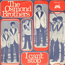 """OSMOND BROTHERS - I Can't Stop (1971 VINYL SINGLE 7"""" RARE DUTCH PS)"""