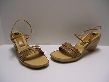 Anne Klein Womens Shoes Sz 8.5 M US Saddle Heels Wedges Sandals Dress Casual