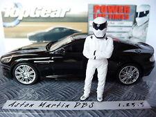 Minichamps 1:43 Aston Martin DBS Black with Sig Figurine 431376