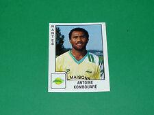 PANINI FOOTBALL FOOT 90 N°221 ANTOINE KOMBOUARE FC NANTES FCN CANARIS 1989-1990