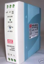 20W Single Output 5V Industrial DIN Rail Power Supply