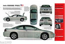 1999 PONTIAC GRAND PRIX IMP Brochure; GTP