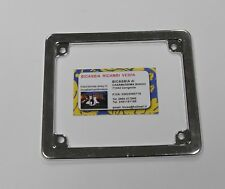 0260 FRAME LICENSE PLATE CHROME NEW 50 VESPA SCOOTER SPECIAL LIBERTY LX ET2