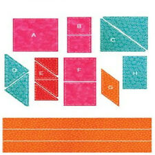 AccuQuilt GO!™Best Sellers Die Set without GO! Cutter 9 Dies & 3 mats