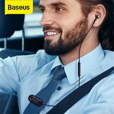 Baseus Bluetooth Single Earbud Business Clip Headset Driver Handsfree Earphone