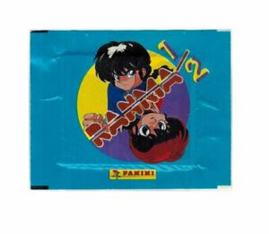 Ranma 1/2 Stock 40 Packs Stickers panini 1996