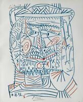 PABLO PICASSO HAND SIGNED SIGNATURE LITHOGRAPH