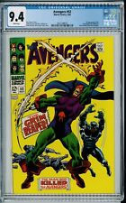 Avengers #52 CGC 9.4 First Appearance Grim Reaper Black panther joins Avengers
