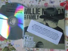 Willie Nelson And Family – Let's Face The Music And Dance Promo UK CD Single
