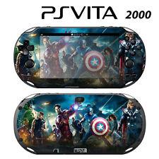 Vinyl Decal Skin Sticker for Sony PS Vita Slim 2000 Avengers 1
