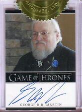 George R.R. Martin 2012 Rittenhouse Game of Thrones Season 2 Auto/Autograph