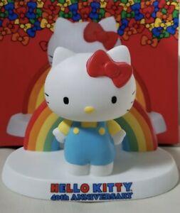 Hello Kitty 40th Anniversary Rainbow Figure Precious Moments 2014 Porcelain
