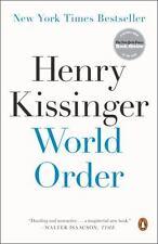 World Order by Henry Kissinger (2015, Paperback)