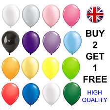10 Large Latex Birthday Wedding Party BALLOONS