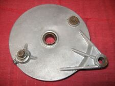 HUSQVARNA REAR BRAKE PLATE 1970 400 CROSS, MOTOCROSS RACER, DIRT BIKE, ENDURO