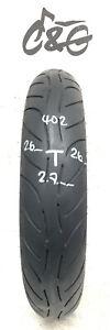 Metzeler Sportec M7 RR   110/70zr17 54w    Part Worn Motorcycle Tyre 402