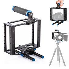 TARION C2 DSLR Camera Cage Rig +15mm Rod Tripod Shoulder Support for Canon Nikon