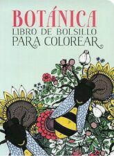 Botanica. Libro De Bolsillo Para Colorear