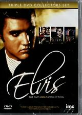 """Elvis Presley - """" The DVD Gold Collection """" - 3 DVD - NEW & SEALED - FREE UK P&P"""