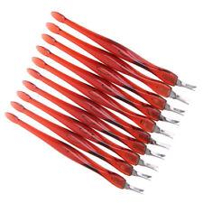 10 x professionele Cuticle Pusher rietenknipper Cutter voor Manicure / Pedicure