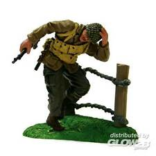 FoV Unimax 101st Airborne PFC Reynolds Soldier hinter Zaun 1:32 Fertigmodell