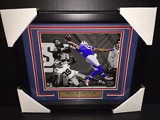 ODELL BECKHAM JR FRAMED 8x10 PHOTO  NEW YORK GIANTS THE GREATEST CATCH EVER