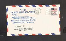 F-111 Super Critical Wing Flight 96 Nov 17, 1976 Edwards, Ca