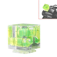 Mini 3D Triple 3 Axis Bubble Spirit Level for Camera Flat Position